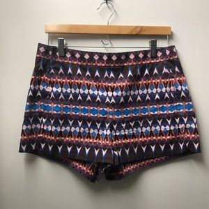 J. Crew Gemstone Printed Cotton Piqué Shorts